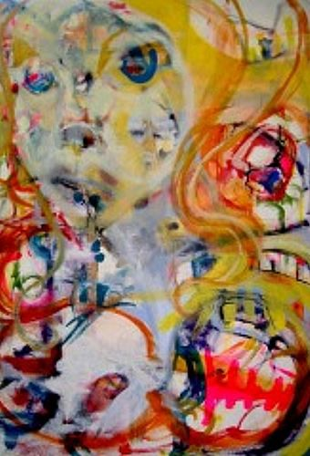 Alice - 4ft X3ft - SOLD