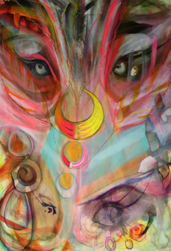 Wolfchild - 3ft x 2ft - FOR SALE - £995